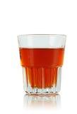 Strzelający whisky Zdjęcia Royalty Free