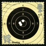 Strzelający Londyn 2012 olimpiady Fotografia Royalty Free