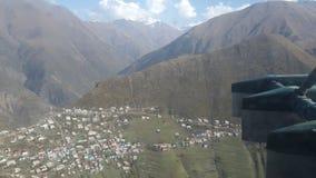 Strzelający od helikopteru Obraz Royalty Free