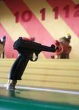 strzelaj klaunów Zdjęcia Stock