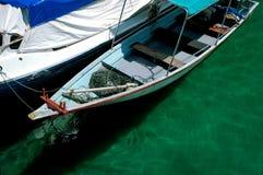 strzelaj zbliżenia łodzi Obrazy Royalty Free