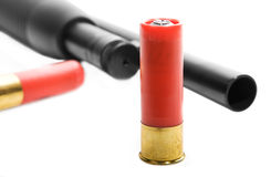 strzelba amunicji Zdjęcie Royalty Free
