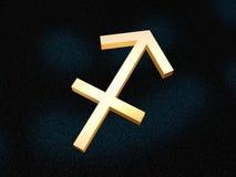 strzelec zodiak Ilustracja Wektor