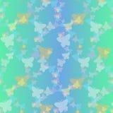 Strzelistych motyli bezszwowy wzór Obraz Stock