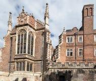 Strzyżyk Biblioteczny Cambridge Anglia Fotografia Royalty Free
