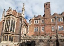Strzyżyk Biblioteczny Cambridge Anglia Fotografia Stock