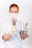 strzykawek narzędzi medycznych. Obraz Royalty Free