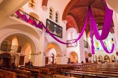 Sts.西梅昂和埃琳娜天主教堂 库存照片