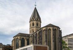Sts Andrew kyrka, Cologne, Tyskland arkivbild