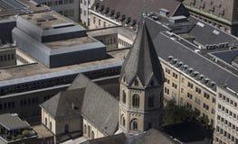 Sts Andrew kyrka i Cologne fotografering för bildbyråer
