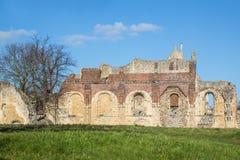 Sts Augustine abbotskloster, Canterbury Arkivbilder