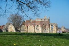 Sts Augustine abbotskloster arkivfoton
