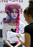 STS Beauty Barcelona (2014). STS Beauty Barcelona. February 8-10, 2014. Barcelona (Spain Royalty Free Stock Image