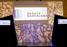 STS Beauty Barcelona (2014). STS Beauty Barcelona. February 8-10, 2014. Barcelona (Spain Royalty Free Stock Photos