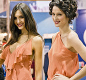 STS Beauty Barcelona (2014). STS Beauty Barcelona. February 8-10, 2014. Barcelona (Spain Royalty Free Stock Images