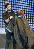 STS BEAUTY BARCELONA - SCHWARZKOPF SHOW Royalty Free Stock Images