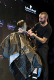 STS BEAUTY BARCELONA - SCHWARZKOPF SHOW Royalty Free Stock Image