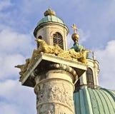 Sts Charles kyrka Arkivfoto