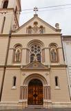 Sts Cyril και εκκλησία Methodius (1880) Ζάγκρεμπ, Κροατία Στοκ φωτογραφίες με δικαίωμα ελεύθερης χρήσης