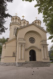 Sts. Cyril and Methodius church in Ljubljana. Stock Images