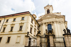 Sts Cyril and Methodius Church. Orthodox Church of Saints Cyril and Methodius in Prague Royalty Free Stock Images