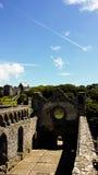 Sts David slott fördärvar Arkivfoto