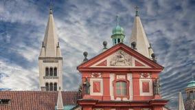 Sts George Basilica i Prague arkivfilmer