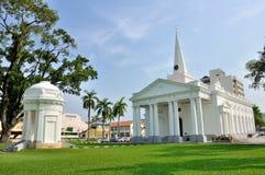 Sts George kyrka i Penang royaltyfri bild