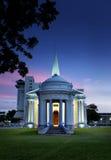 Sts George kyrka, Penang, Malaysia arkivfoto