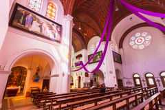 Sts. Igreja católica romana de Simeon e de Elena Foto de Stock