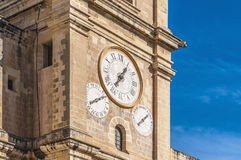 Sts John Co-Domkyrka i Valletta, Malta Fotografering för Bildbyråer