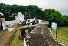 Sts John fort Arkivbild