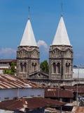 Sts Joseph katolska domkyrka i stenstaden, Zanzibar royaltyfria foton