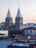 Sts Joseph katolska domkyrka i stenstaden, Zanzibar arkivfoton