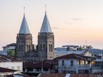 Sts Joseph katolska domkyrka i stenstaden, Zanzibar fotografering för bildbyråer