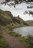 Sts Margaret lås, Holyrood parkerar, Edinburg Royaltyfria Foton
