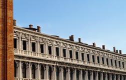 Sts Mark fyrkant, Venedig Arkivbilder