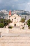 Sts Mark kyrka i Makarska Royaltyfria Foton