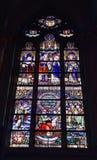 Sts Martin kyrka av Courtrai Fotografering för Bildbyråer