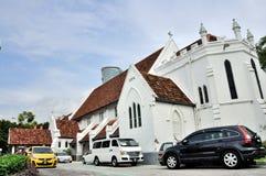 Sts Mary anglikanska domkyrka i Kuala Lumpur Arkivbilder