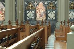 Sts Mary domkyrkabasilika Covington KY Arkivfoton