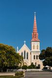 Sts Mary katolsk kyrka i Blenheim royaltyfri foto