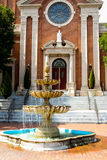 Sts Mary kyrka, Cranston, RI Royaltyfria Foton