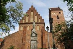 Sts Mary kyrka i Warszawa Polen Royaltyfria Foton