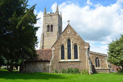 Sts Mary kyrklig Eynesbury St Neots Royaltyfria Bilder