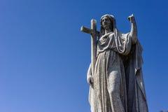 Sts Mary kyrkogård Arkivbild