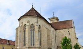 Sts Michael domkyrka - Alba Iulia, Rumänien Arkivfoto