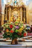 Sts Michael kyrka, Olomouc, Moravia Royaltyfria Bilder