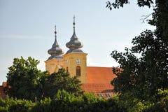 Sts Michael kyrka, Osijek, Kroatien Fotografering för Bildbyråer