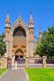 Sts Patrick basilika: Gotisk arkitektur royaltyfria foton